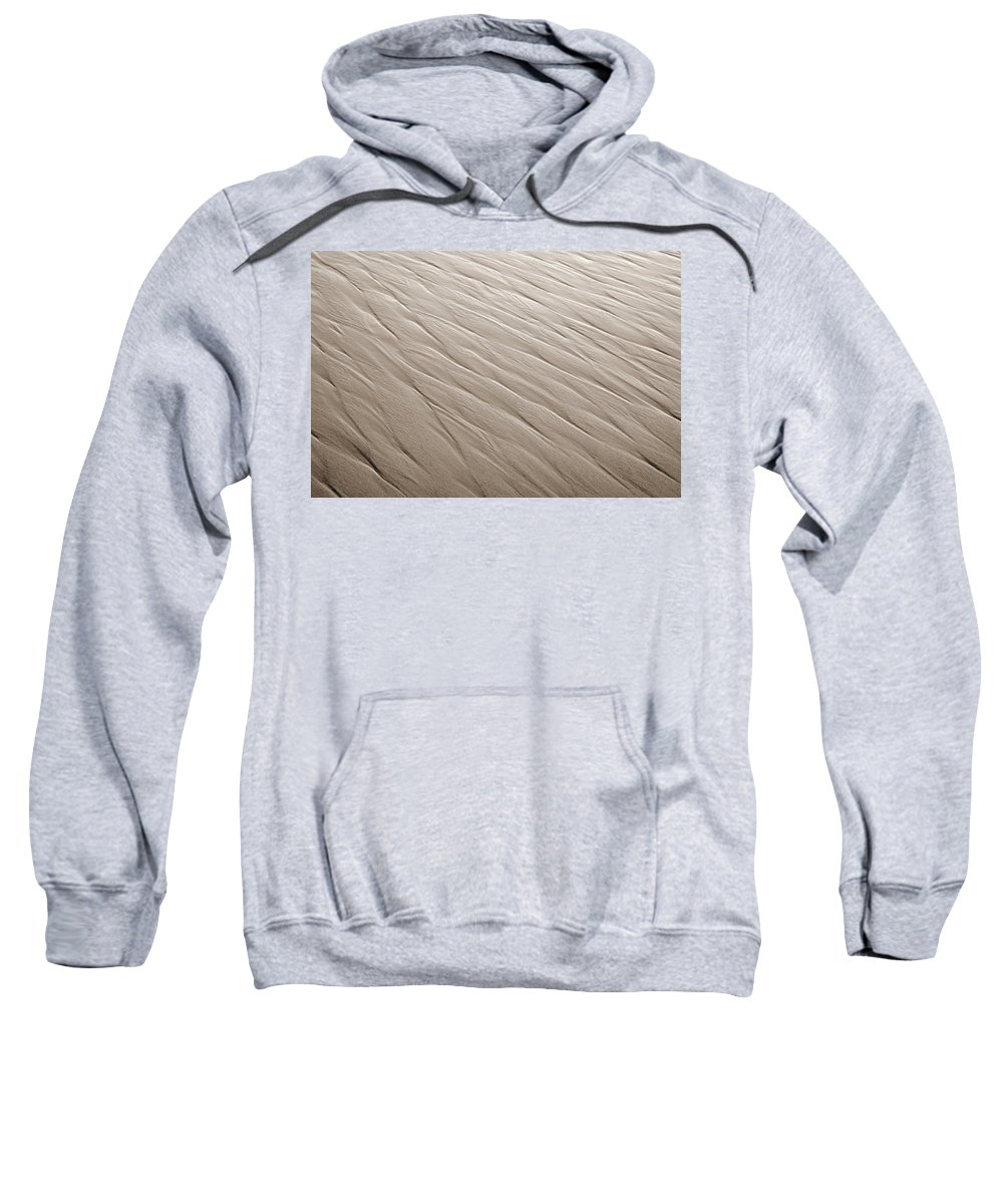 Ripples Sweatshirt featuring the photograph Rippling by Marilyn Hunt