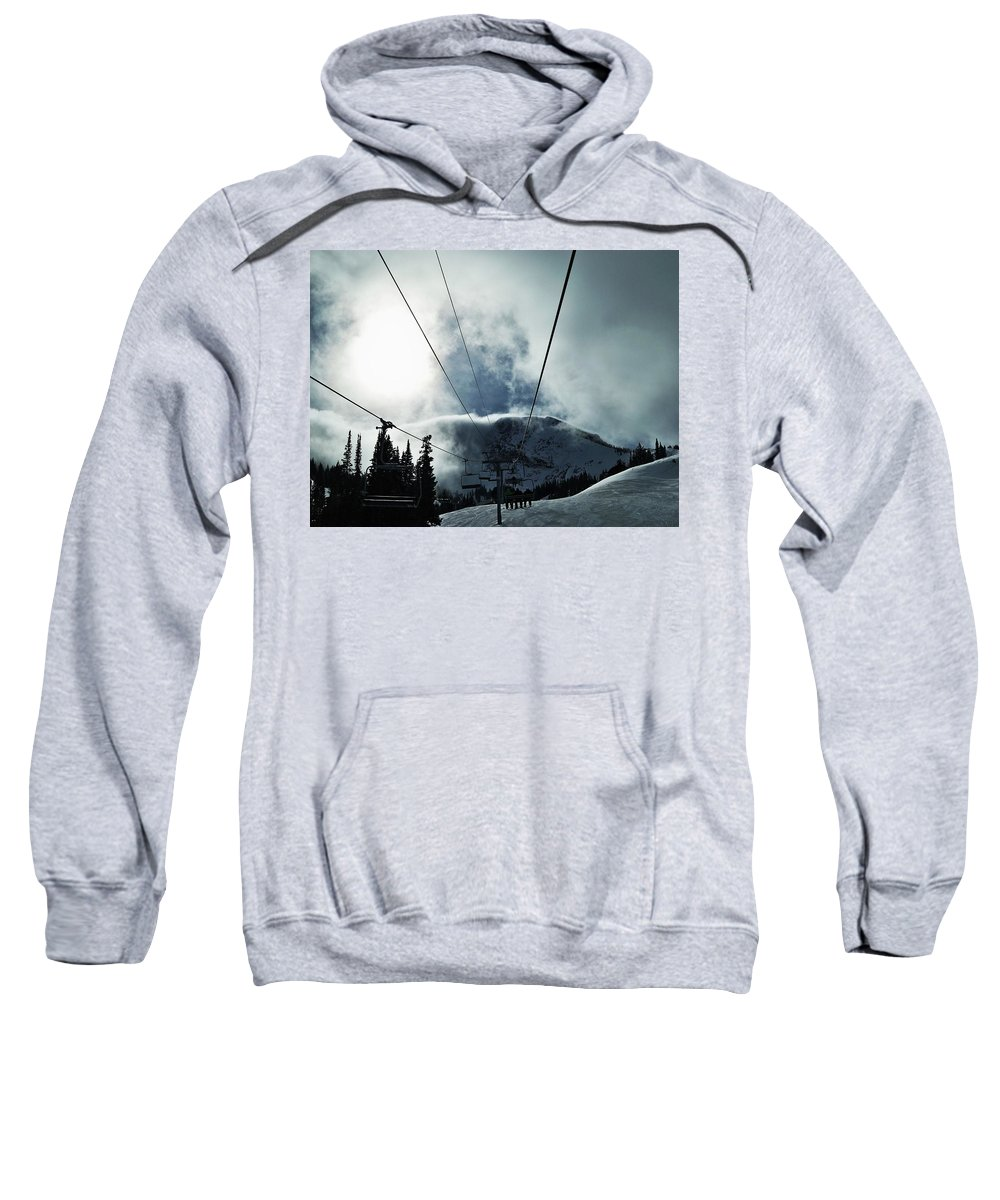 Landscape Sweatshirt featuring the photograph Rise To The Sun by Michael Cuozzo