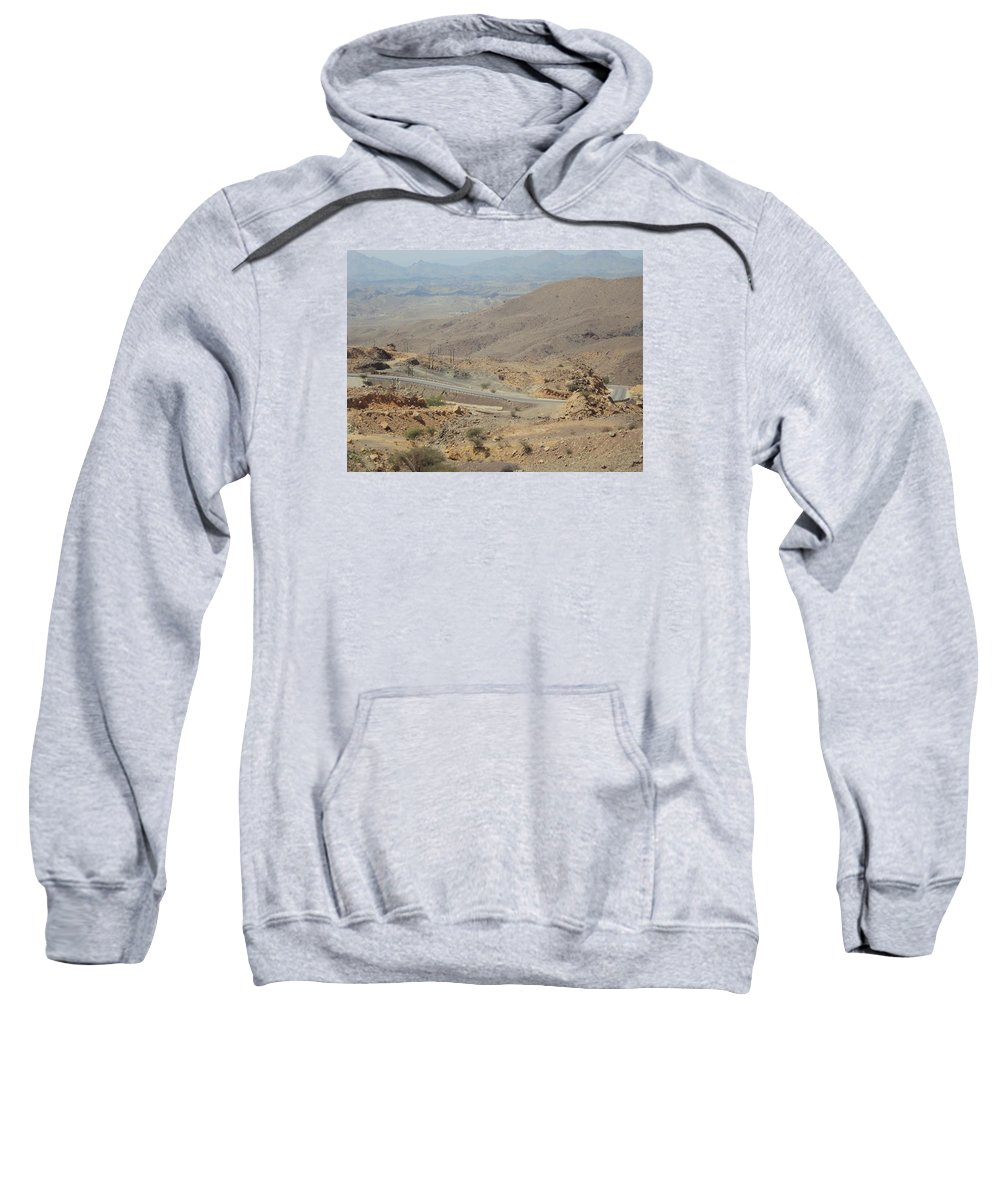 Sweatshirt featuring the photograph Road by Manoj John