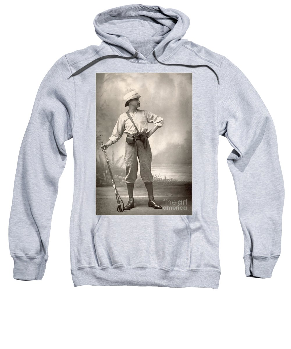 1880 Sweatshirt featuring the painting Robert Henry Nelson by Granger
