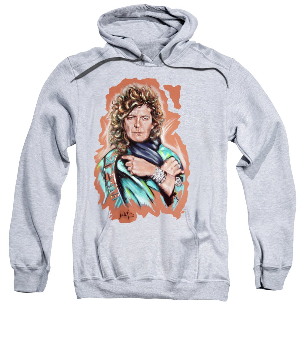 Robert Plant Hooded Sweatshirts T-Shirts