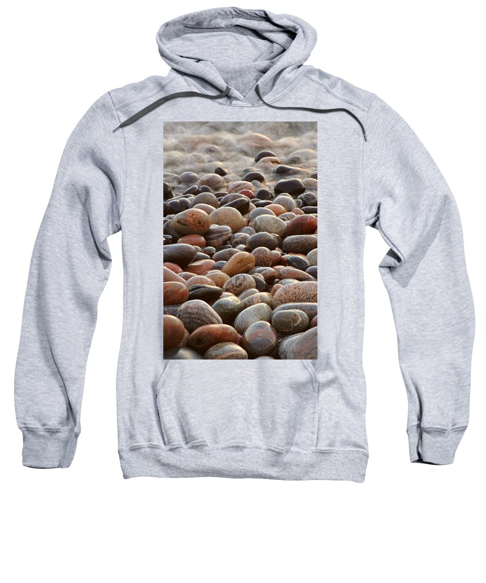 Water Sweatshirt featuring the photograph Rocks  by Doug Gibbons
