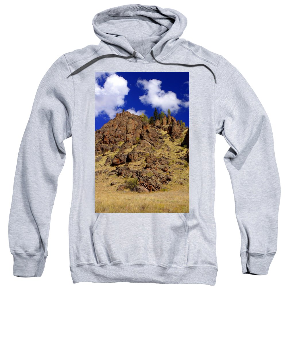 Colorado Sweatshirt featuring the photograph Rocky Butte by Marty Koch