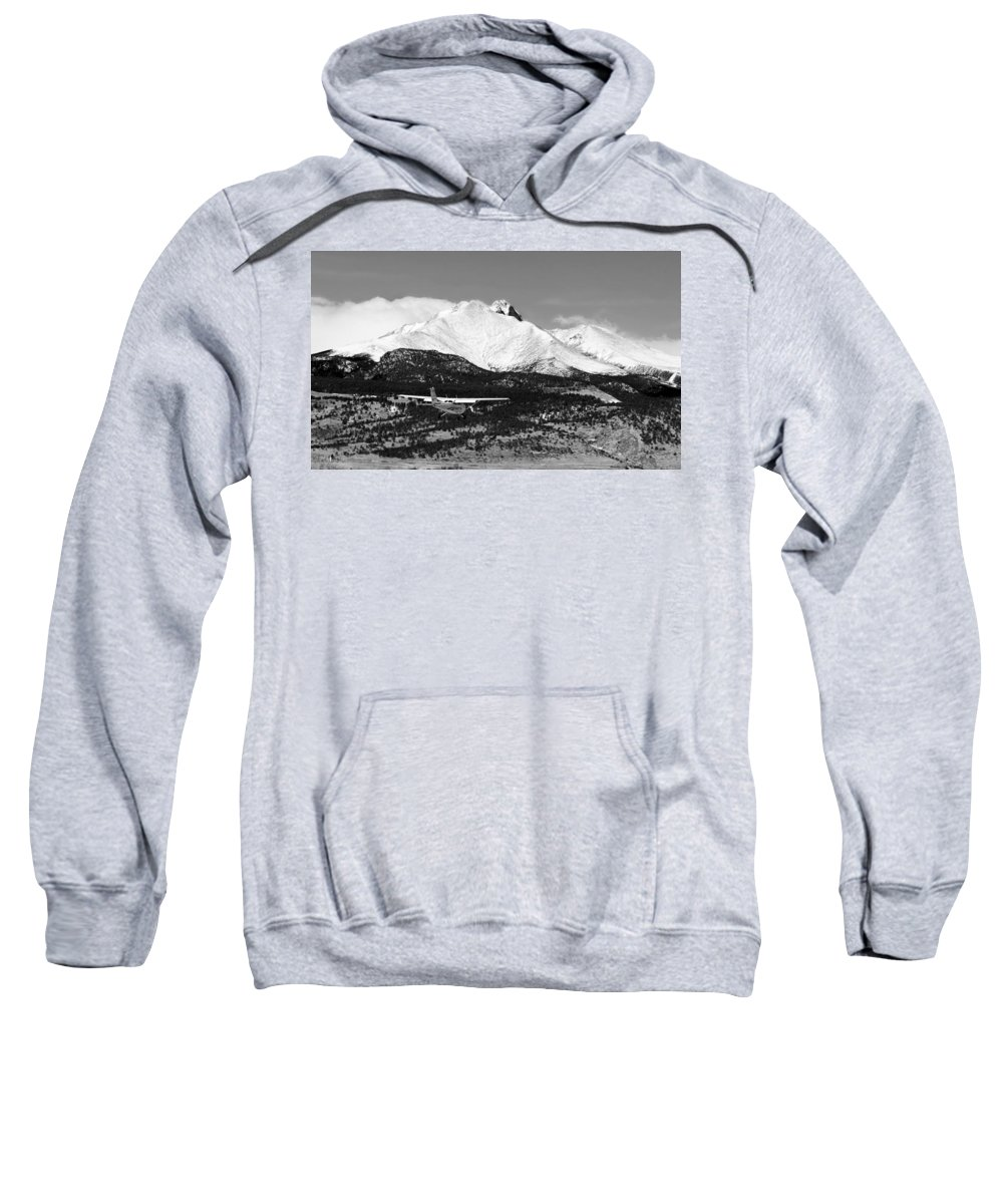 Aircraft Sweatshirt featuring the photograph Rocky Mountain Flying by James BO Insogna