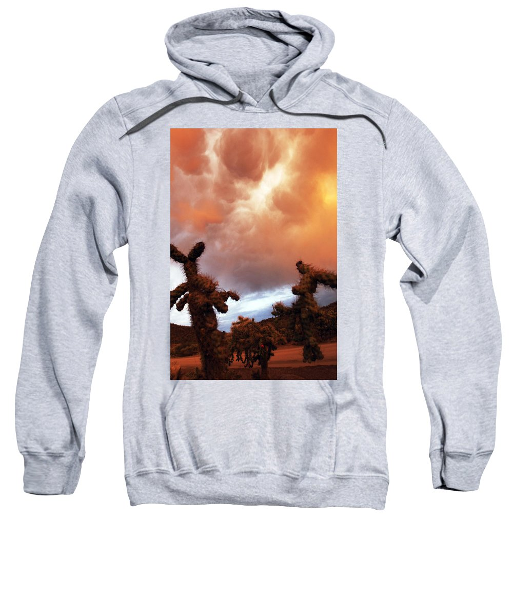 Storm Sweatshirt featuring the photograph Roiling Sky by Jill Reger