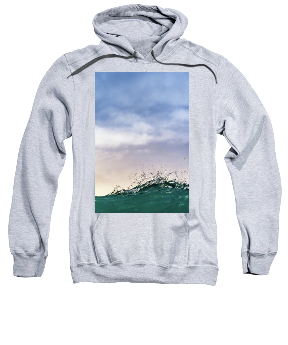 Waves Sweatshirt featuring the photograph Rollercoaster by Andre Donawa