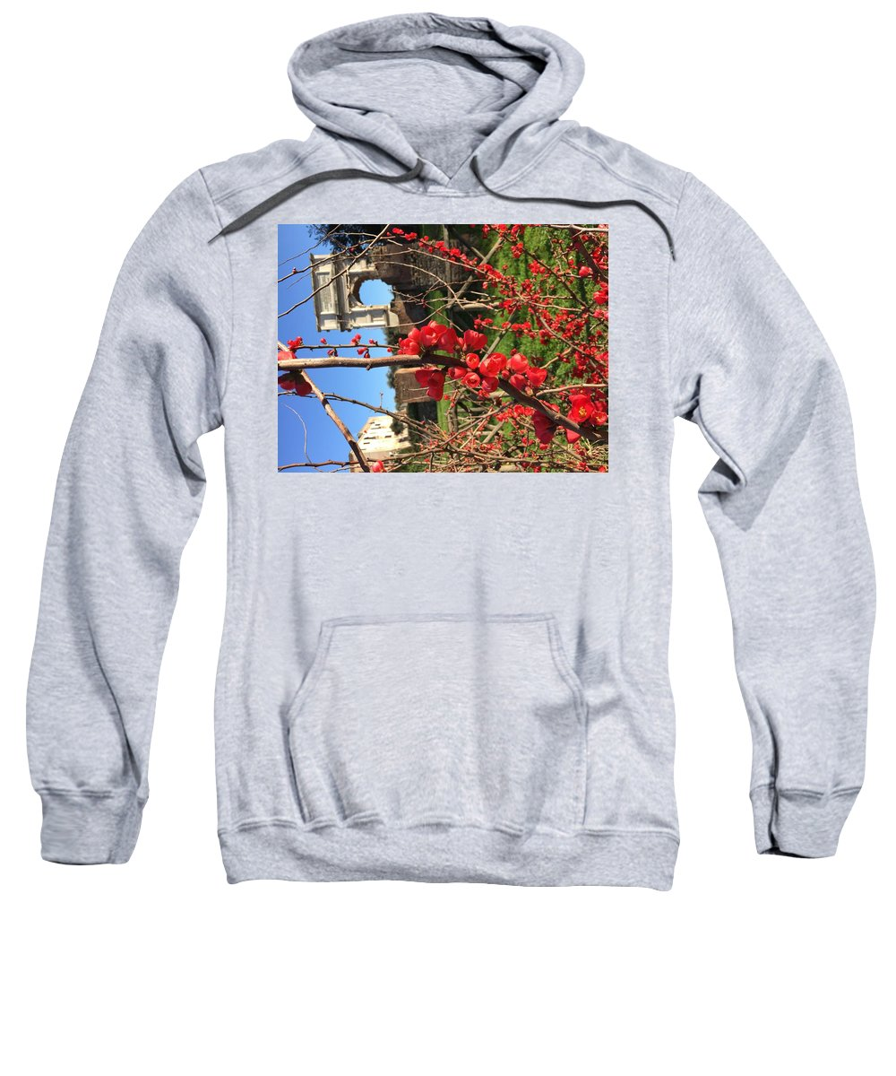 Roma Sweatshirt featuring the photograph Roma by Nicole Prohaska