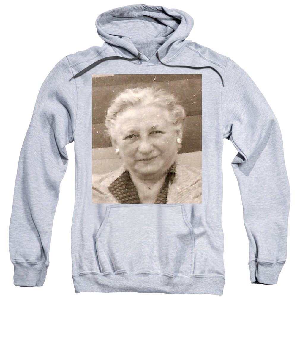 Sweatshirt featuring the photograph Rosa by Carole Spandau