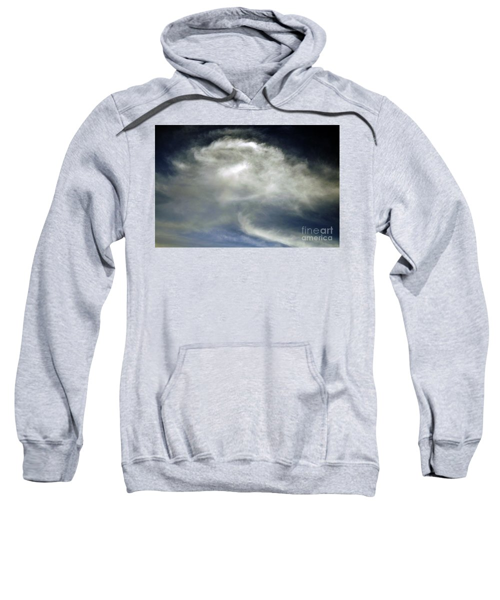 Clay Sweatshirt featuring the photograph Rose Cloud by Clayton Bruster