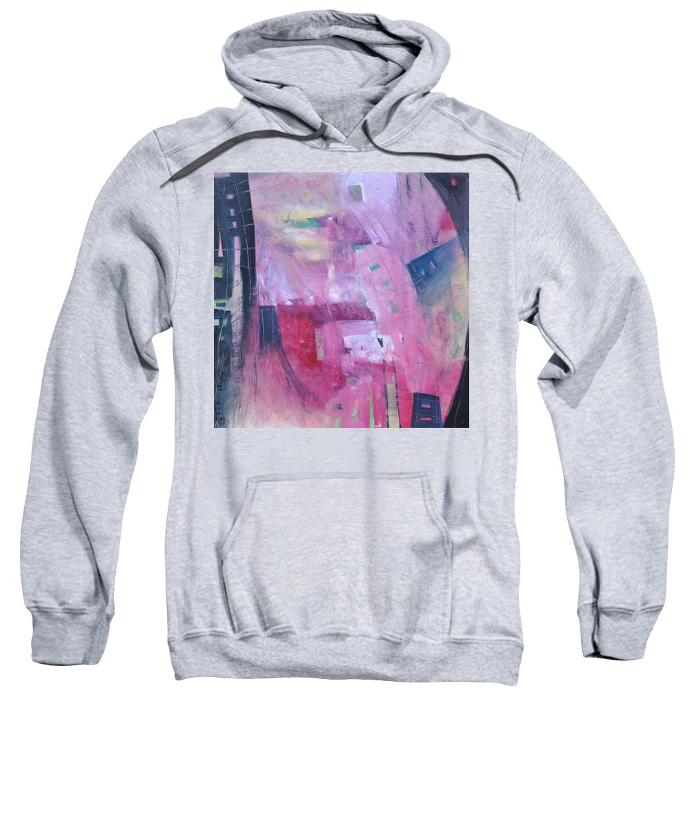 Rose Sweatshirt featuring the painting Rose Room by Tim Nyberg