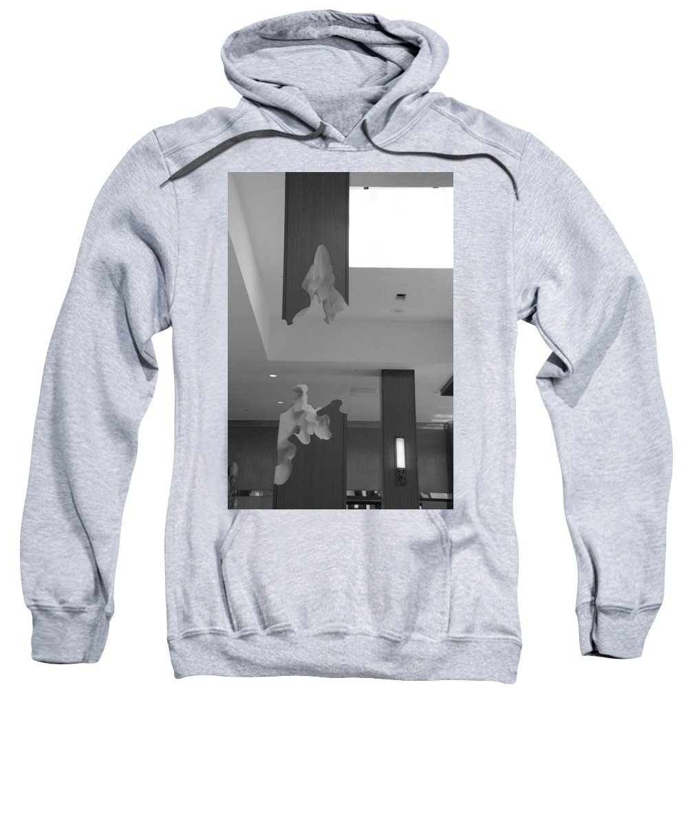 Abstract Sweatshirt featuring the photograph Rotton Stanchon by Rob Hans