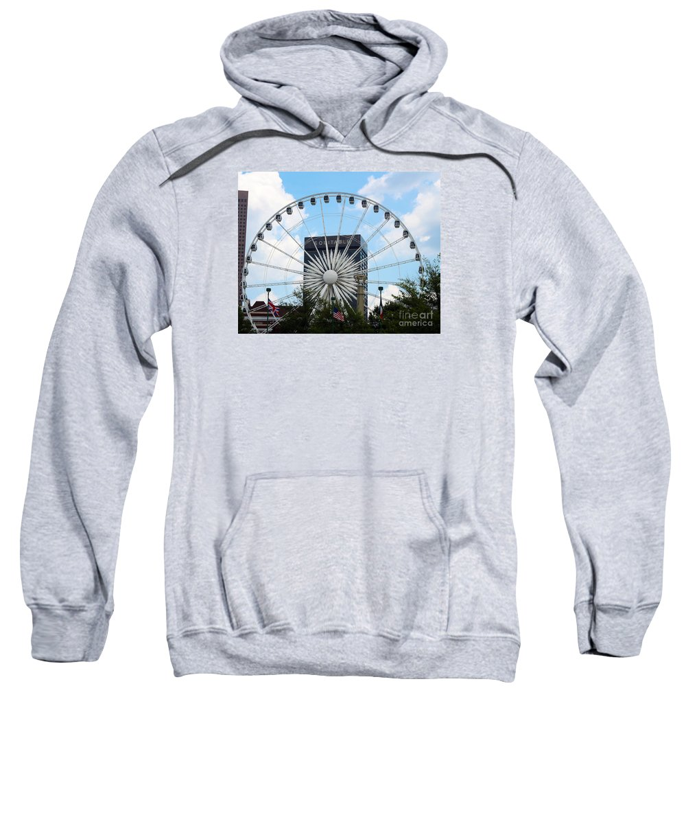Atlanta Sweatshirt featuring the photograph Round And Round by Kelley Sims