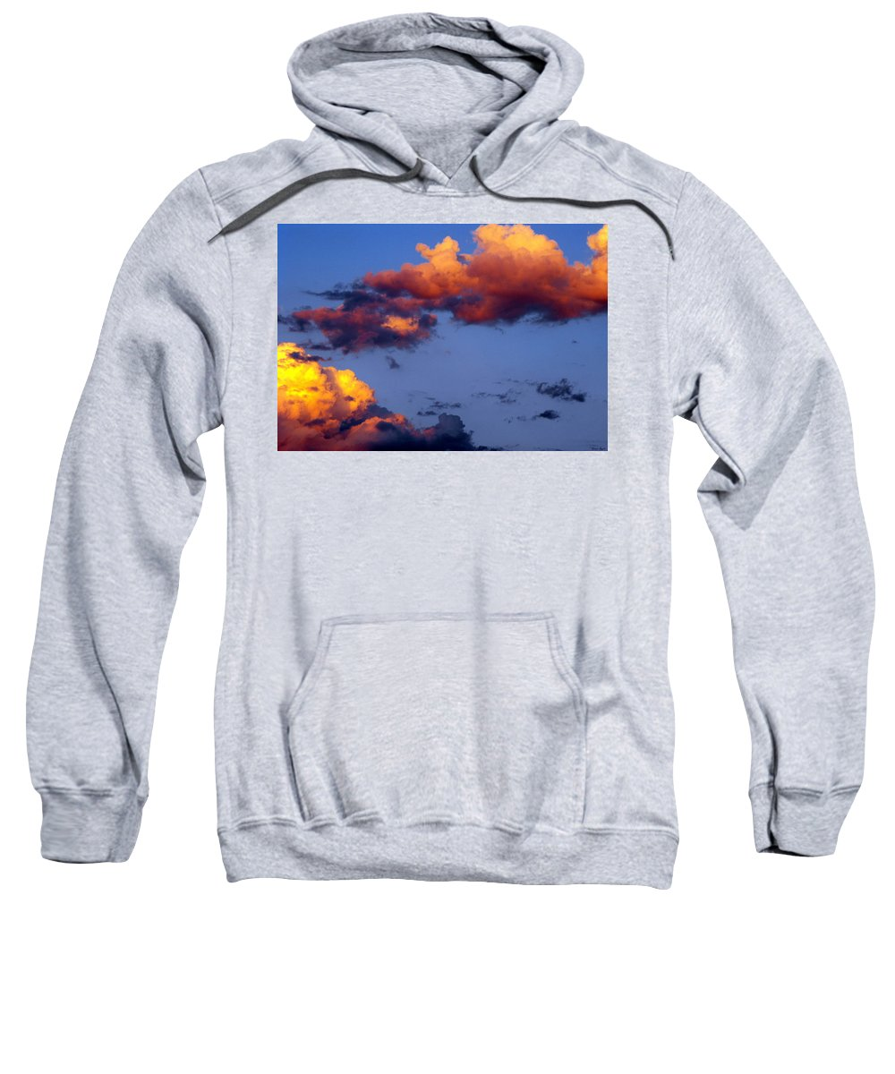 Clouds Sweatshirt featuring the photograph Roy-biv Clouds by Ginger Repke
