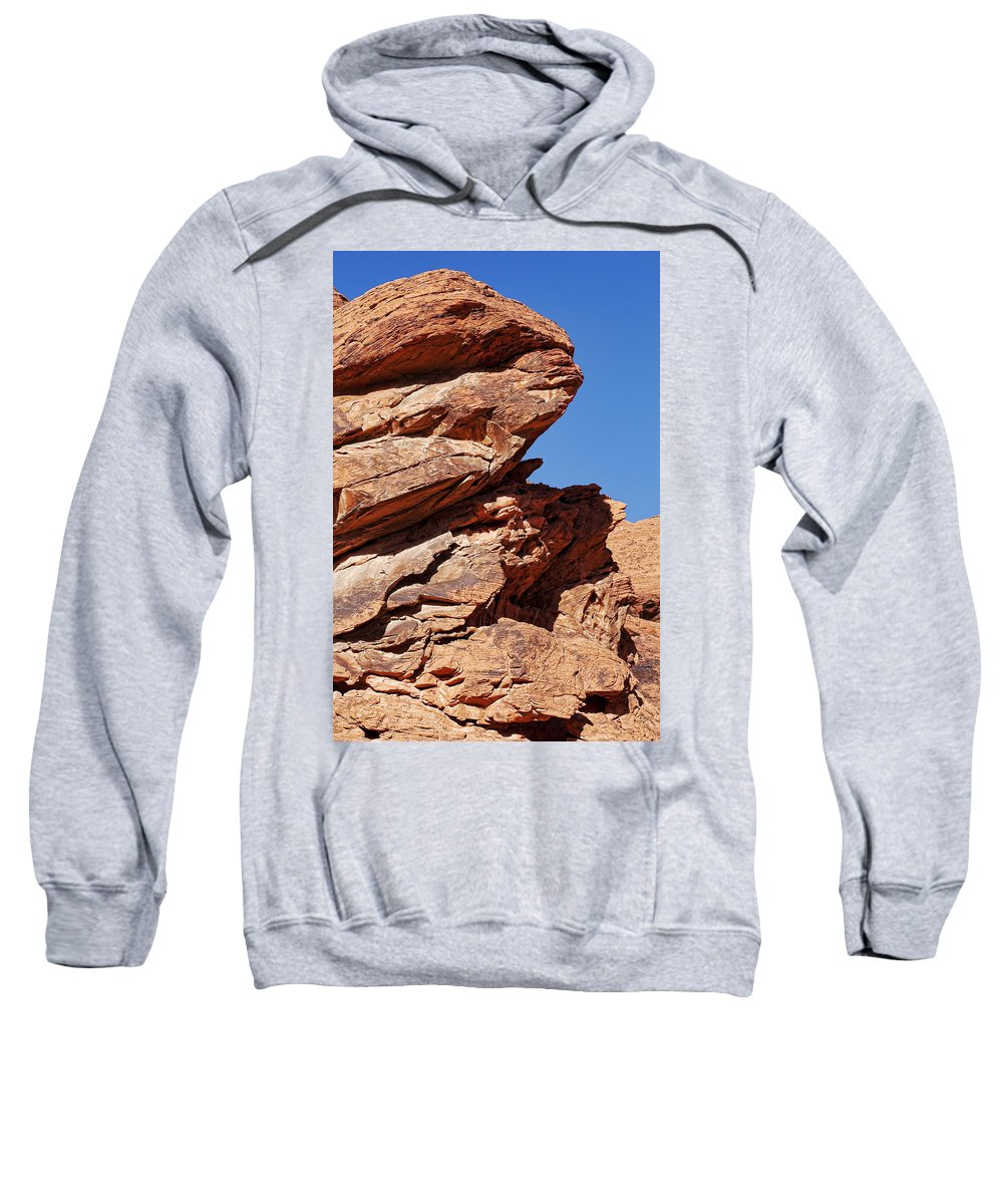 Rocks Sweatshirt featuring the photograph Rugged Beauty by Kelley King