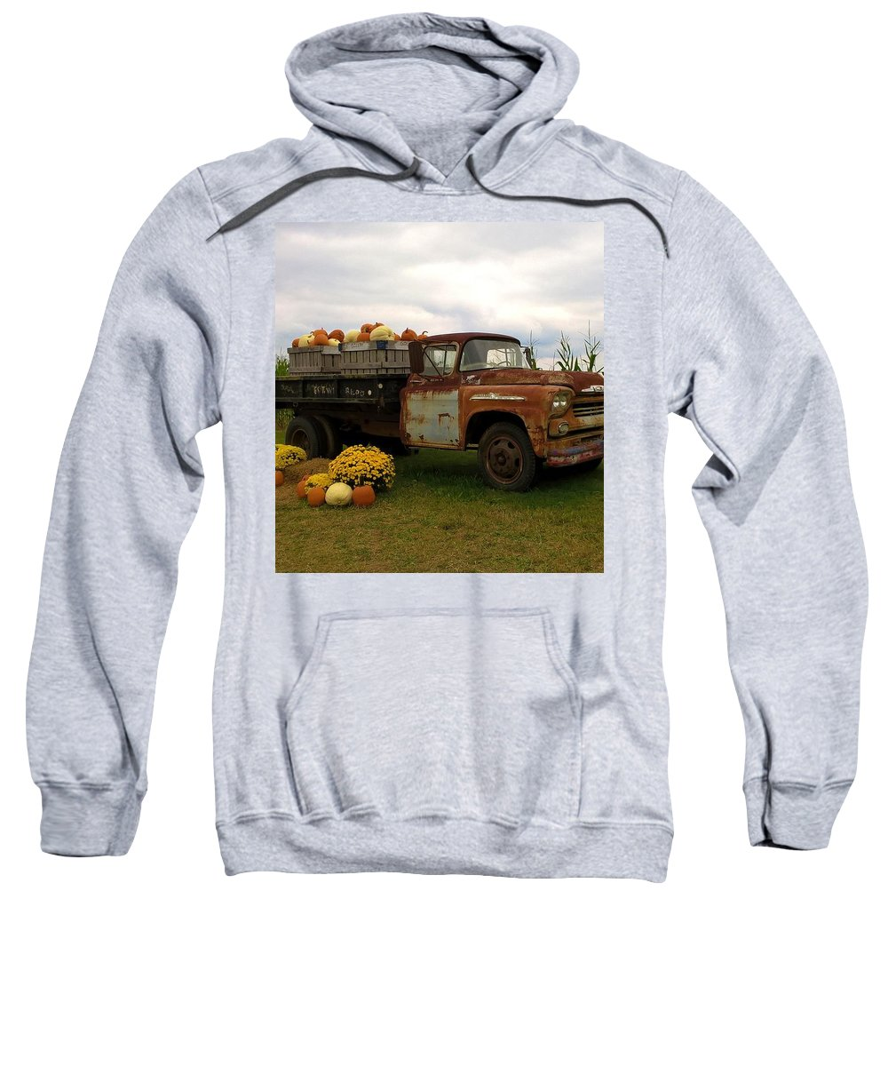 Farm Sweatshirt featuring the photograph Rustic Farming by Zully Bartley