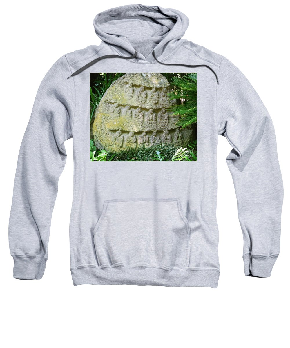 Stone Sweatshirt featuring the photograph Sacred Stone by Dean Triolo