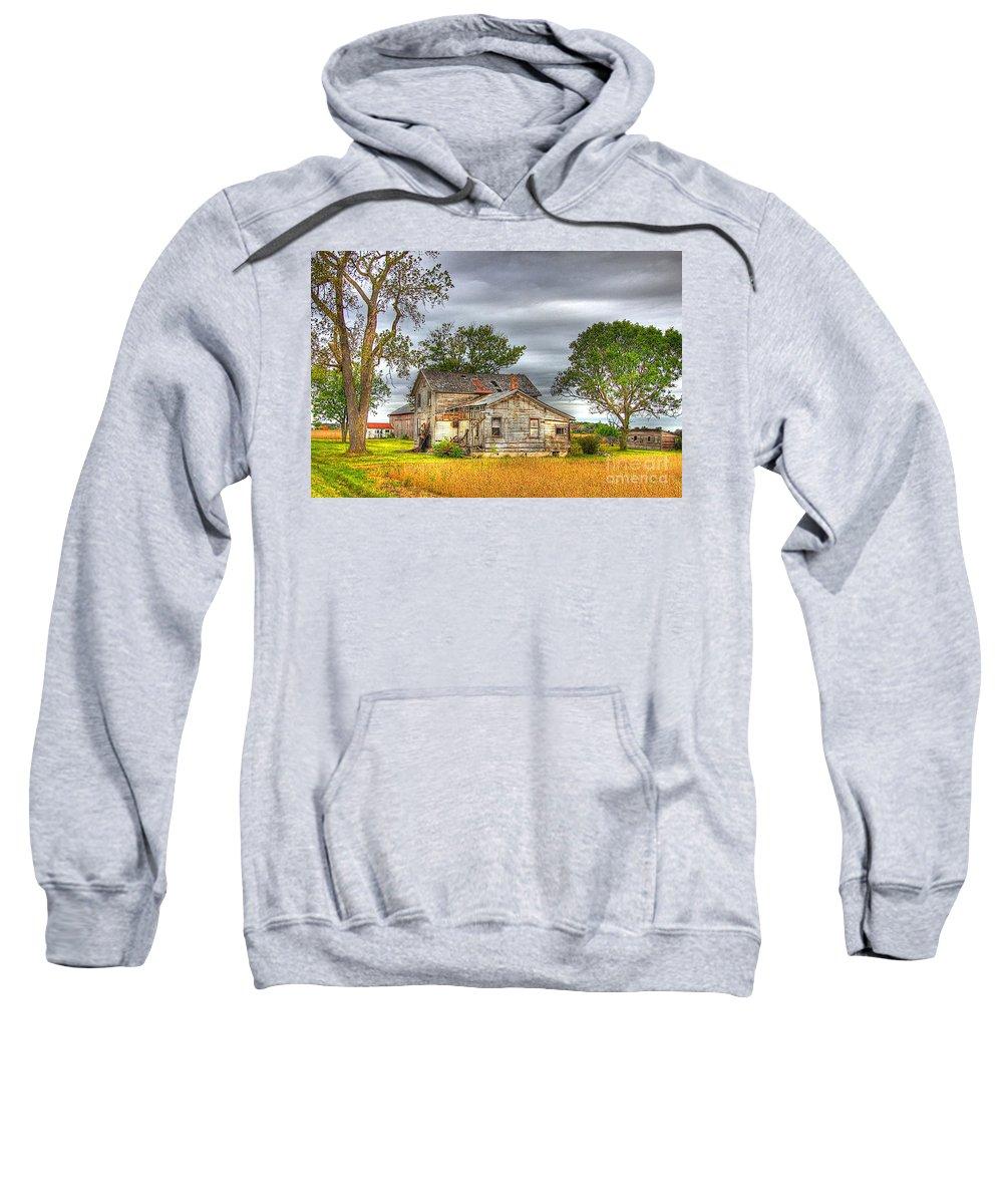 Barn Sweatshirt featuring the photograph Sad But True by Robert Pearson