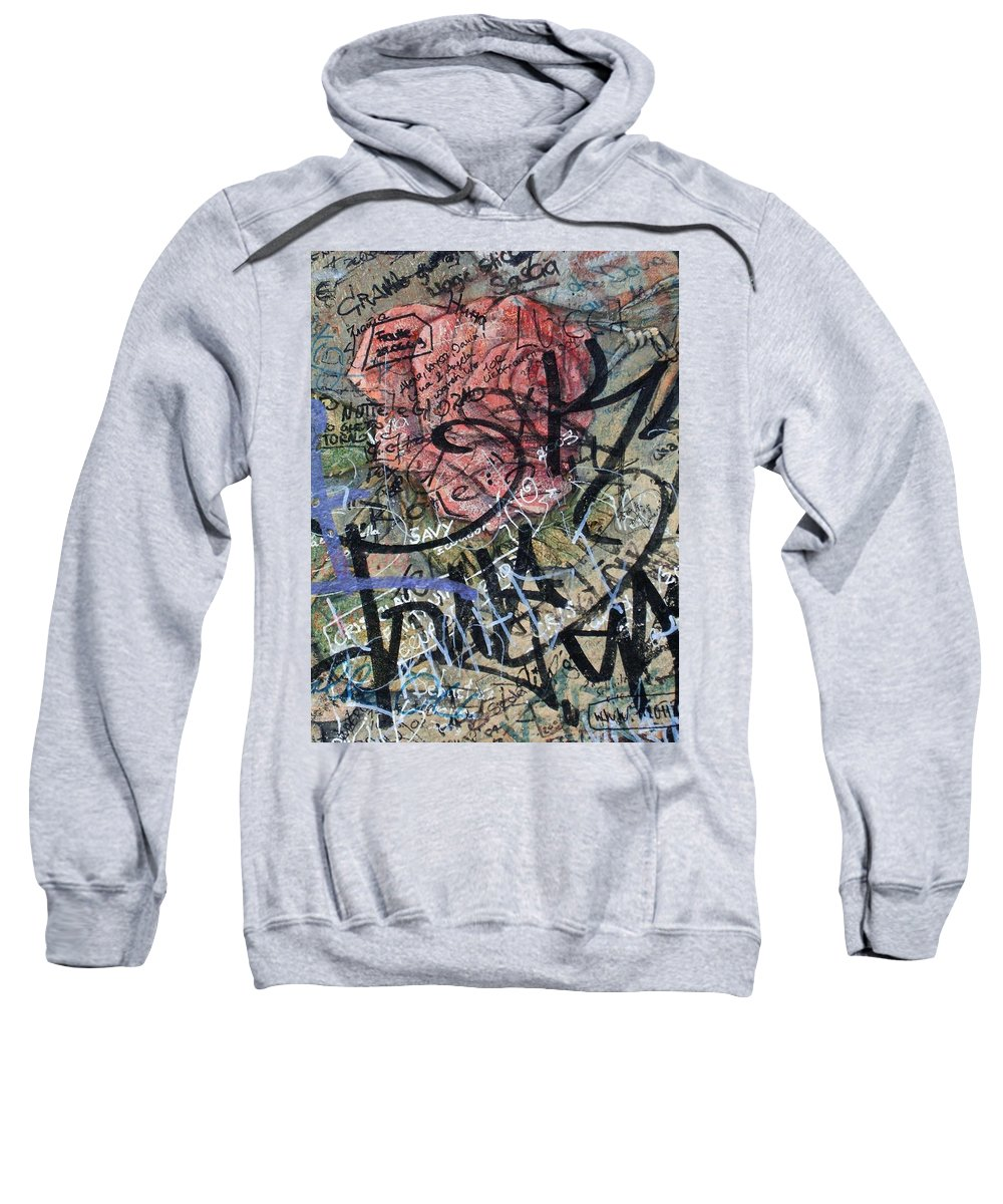 Sad Sweatshirt featuring the photograph Sad Rose ... by Juergen Weiss