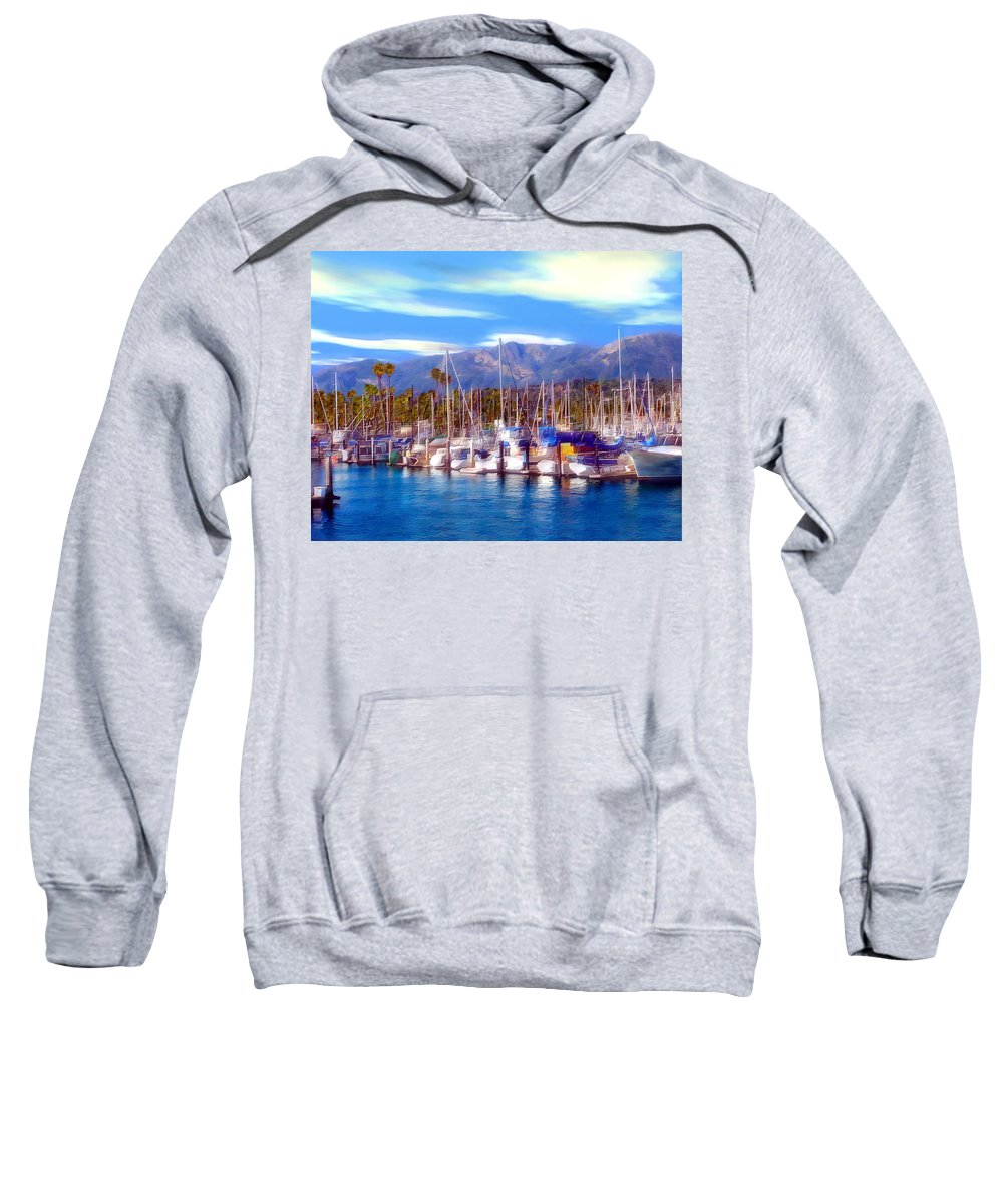 Charbor Sweatshirt featuring the photograph Safe Haven by Kurt Van Wagner