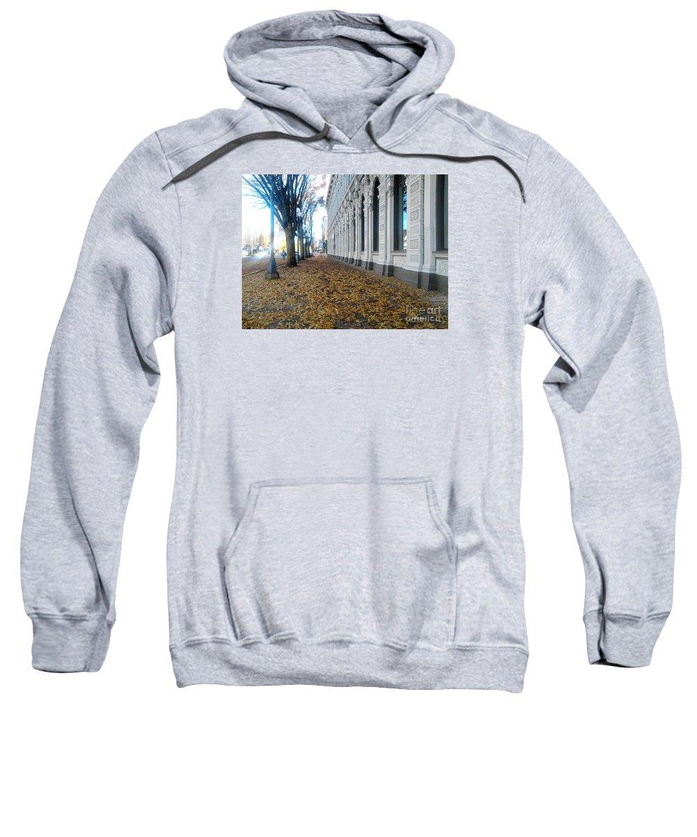 Salem Sweatshirt featuring the photograph Autumn In Salem by Geoff Sadler Designs