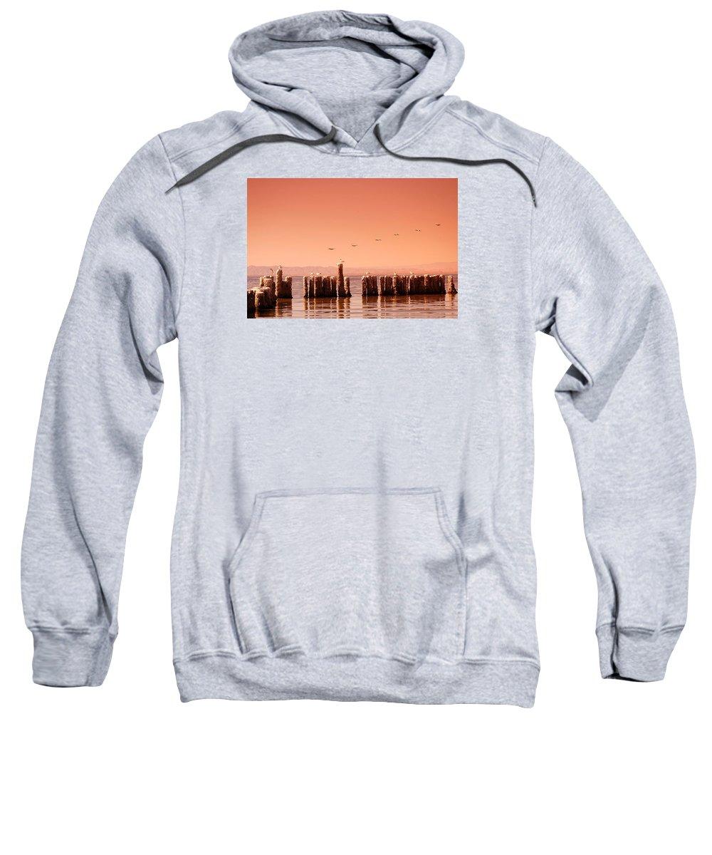 Salton Sea Sweatshirt featuring the photograph Salton Sea by John Malmquist