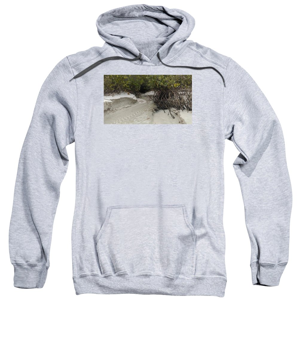 Beach Sweatshirt featuring the photograph Saltwater Creek by Jessicca Lawrence
