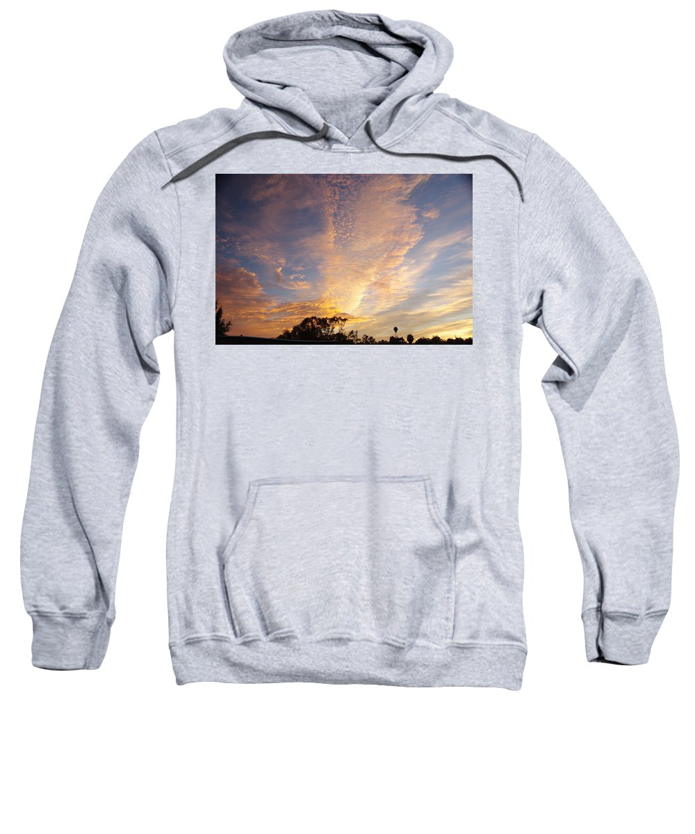San Diego Sweatshirt featuring the photograph San Diego Sunsrise 3 7/12/15 by Phyllis Spoor