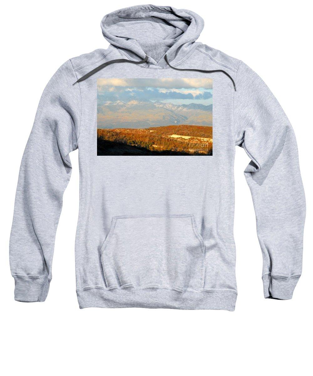 San Juan Mountains Colorado Sweatshirt featuring the photograph San Juan Mountains by David Lee Thompson