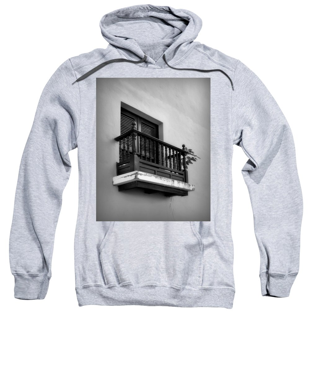 Window Sweatshirt featuring the photograph San Juan Window 2 by Perry Webster