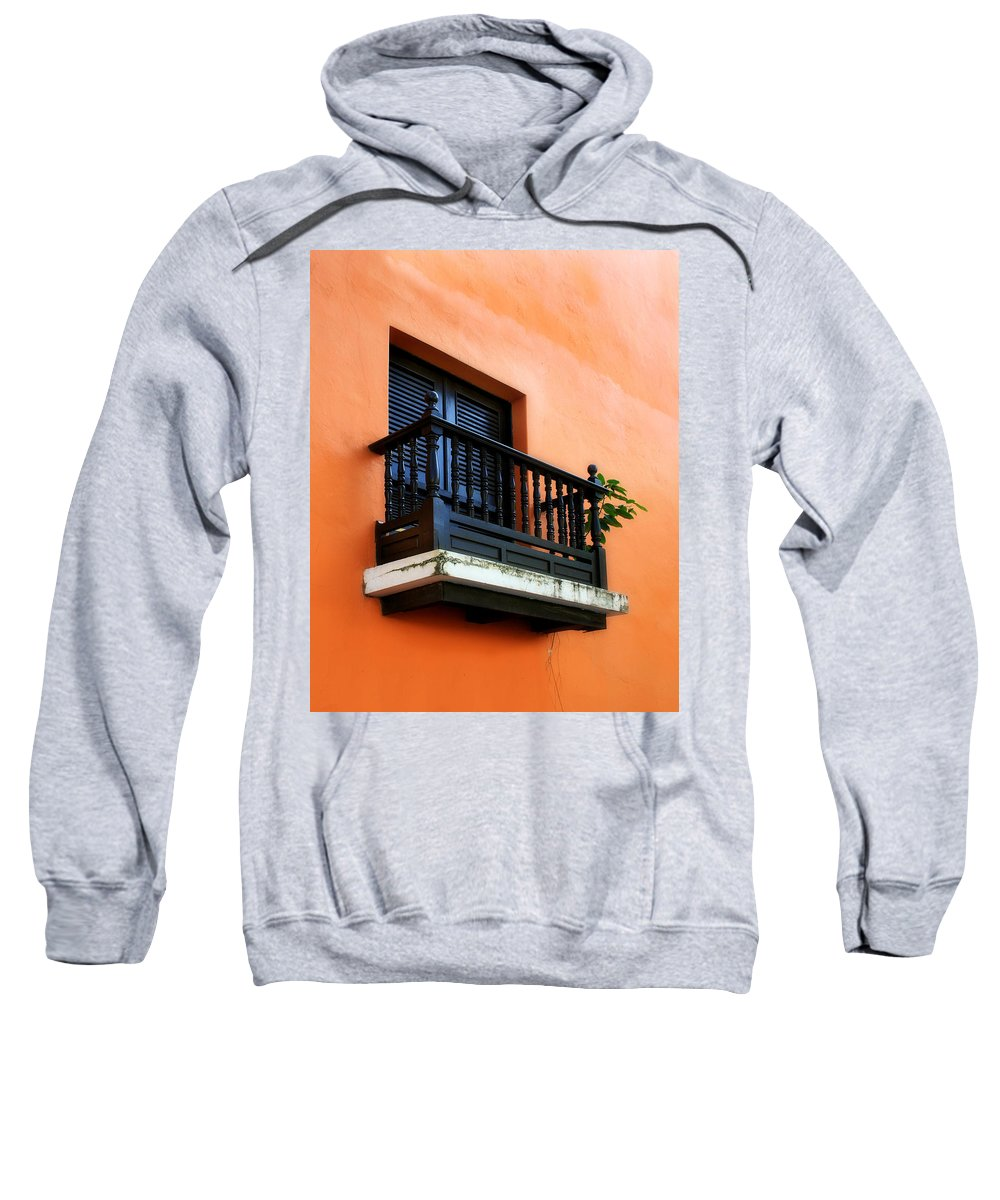 Window Sweatshirt featuring the photograph San Juan Window by Perry Webster