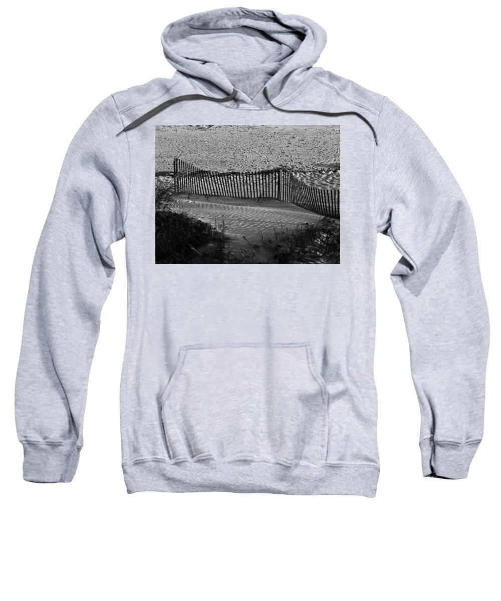 Ocean Sweatshirt featuring the photograph Sand And Shadows by Teresa Mucha