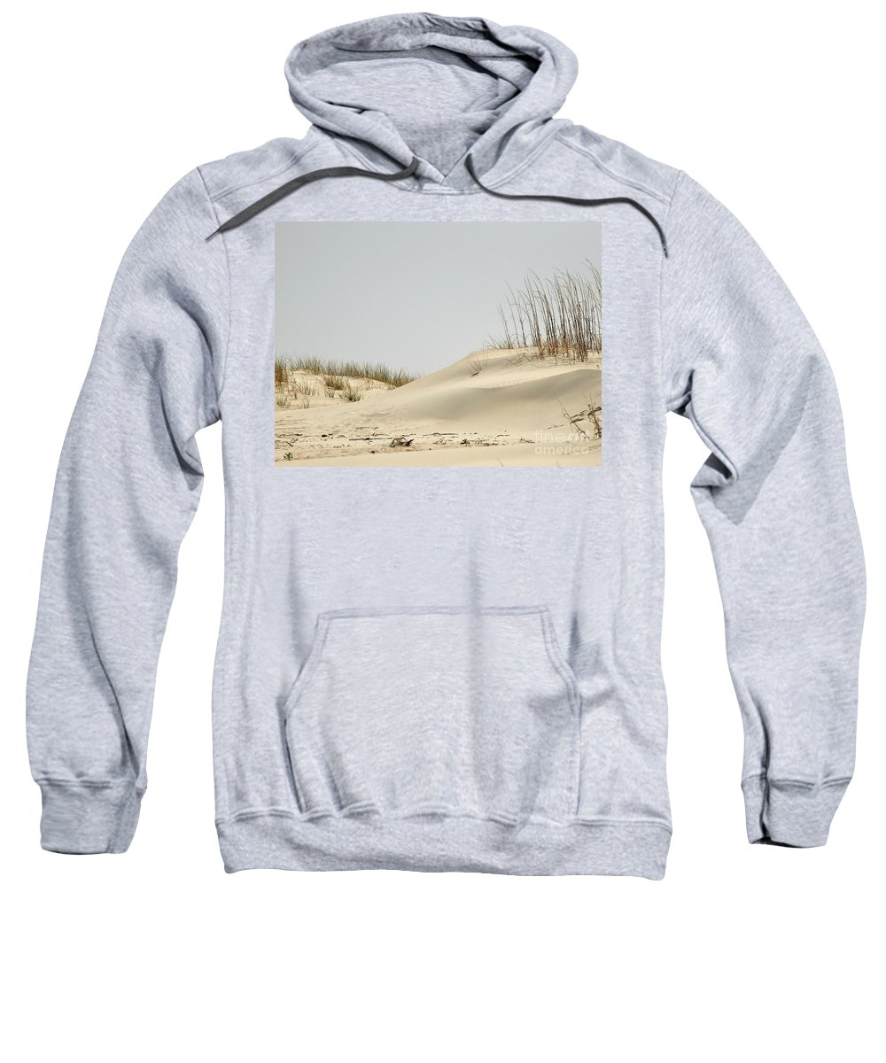 Sand Sweatshirt featuring the photograph Sand Dunes And Sea Oats by Al Powell Photography USA