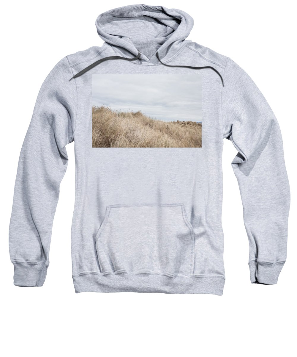 Background Sweatshirt featuring the photograph Sand Dunes by Tom Gowanlock