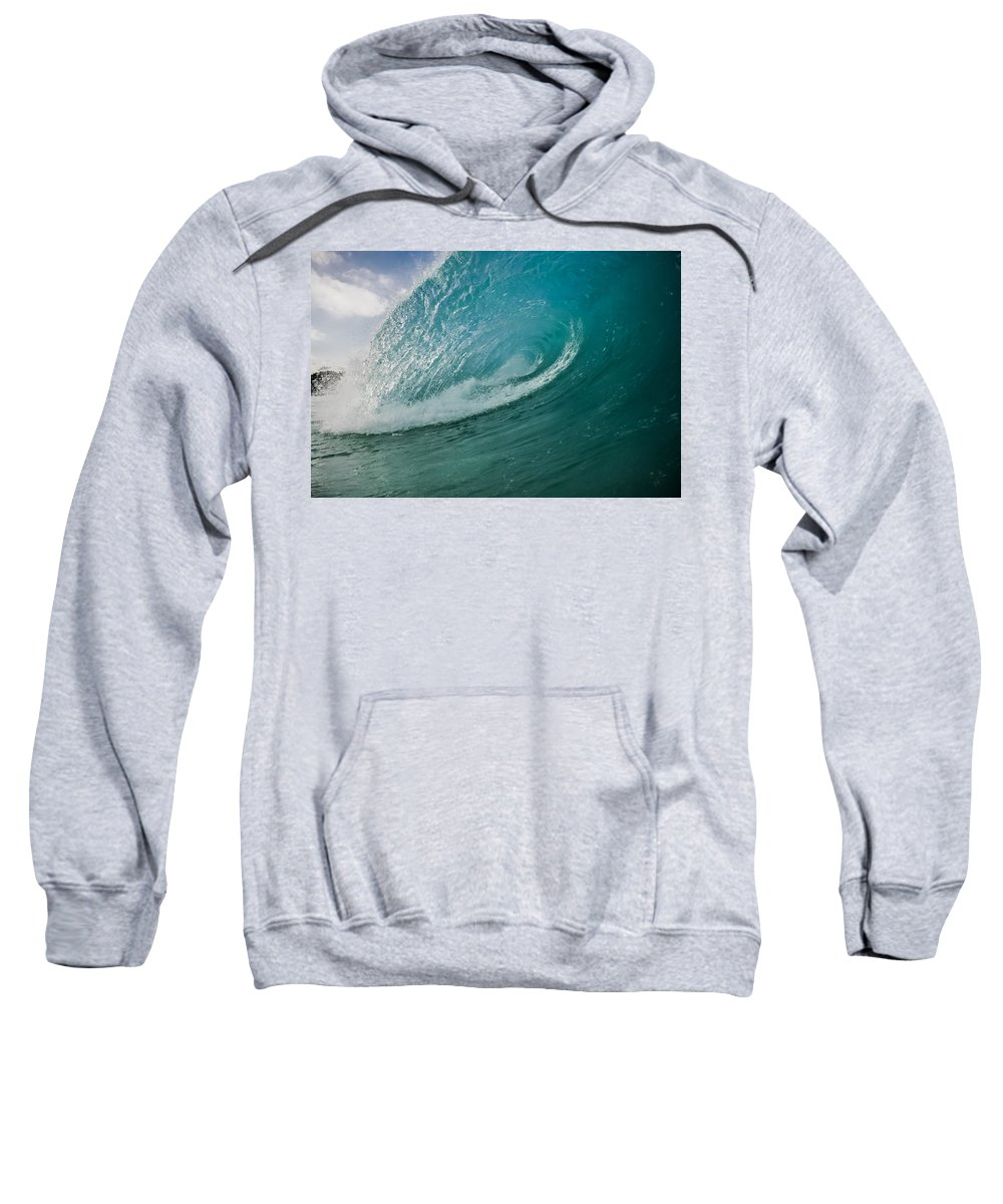 Ocean Sweatshirt featuring the photograph Sand Slab by JJ Tondo