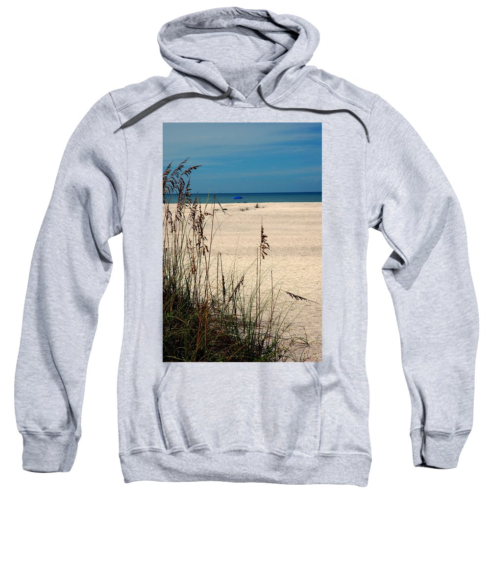 Sanibel Island Sweatshirt featuring the photograph Sanibel Island Beach Fl by Susanne Van Hulst