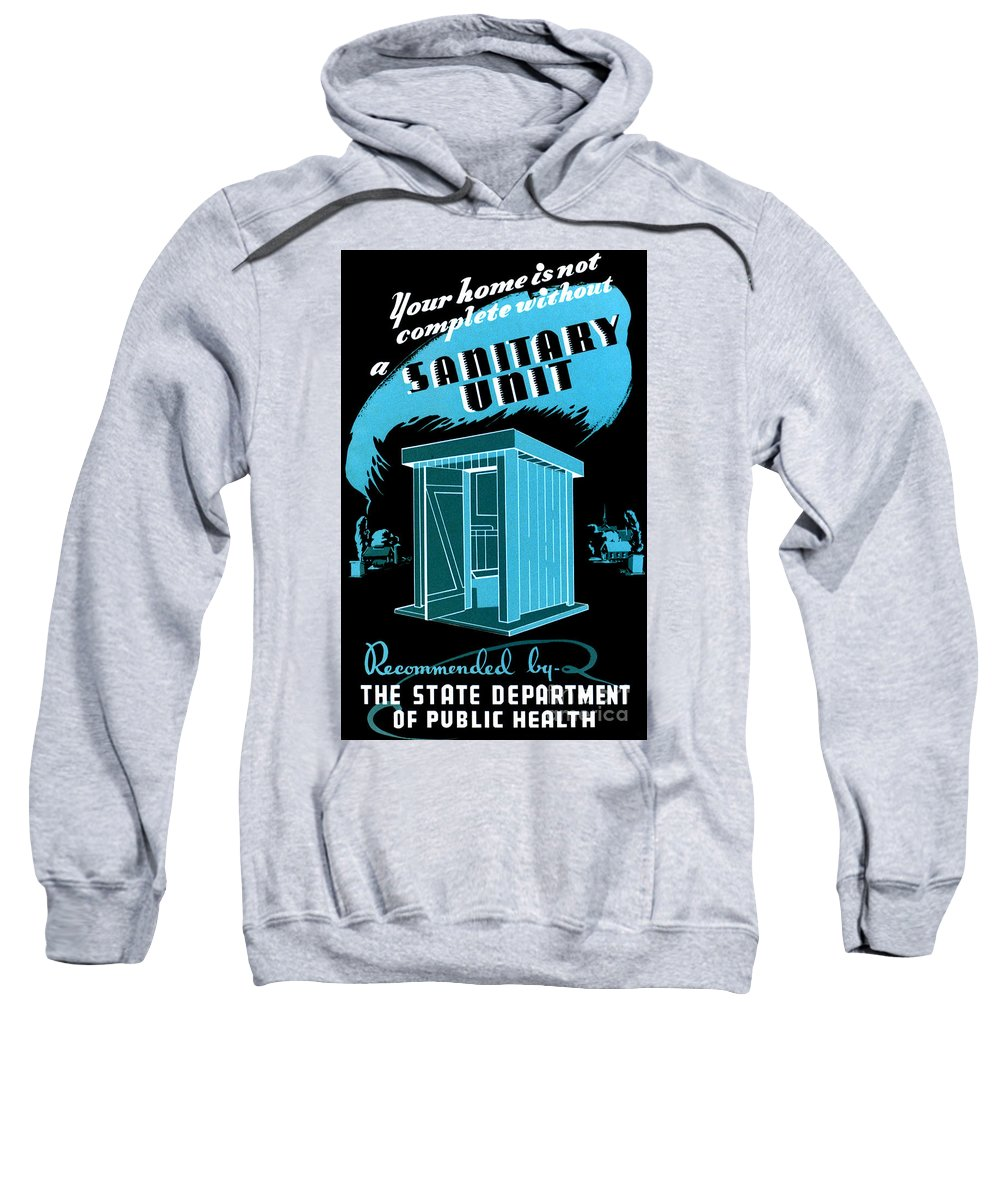 Government Sweatshirt featuring the photograph Sanitary Unit Fap Poster by Science Source