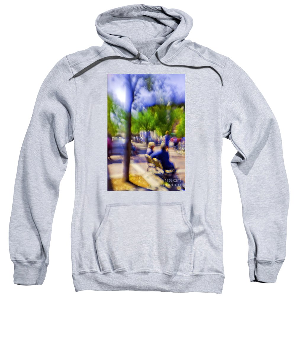 Afternoon Sweatshirt featuring the photograph Saturday Afternoon 2 by Madeline Ellis