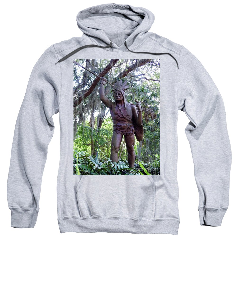 St Augustine Sweatshirt featuring the photograph Saturiwa by D Hackett