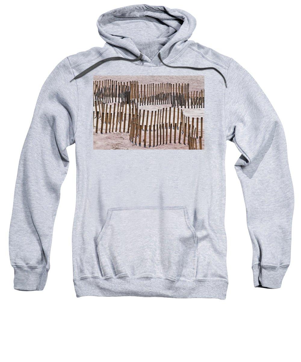 Sand Sweatshirt featuring the photograph Save The Dunes by Bob Slitzan