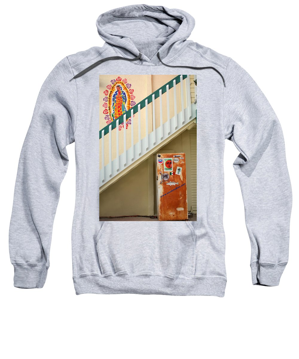 Urban Sweatshirt featuring the photograph Saying Grace by Jill Reger