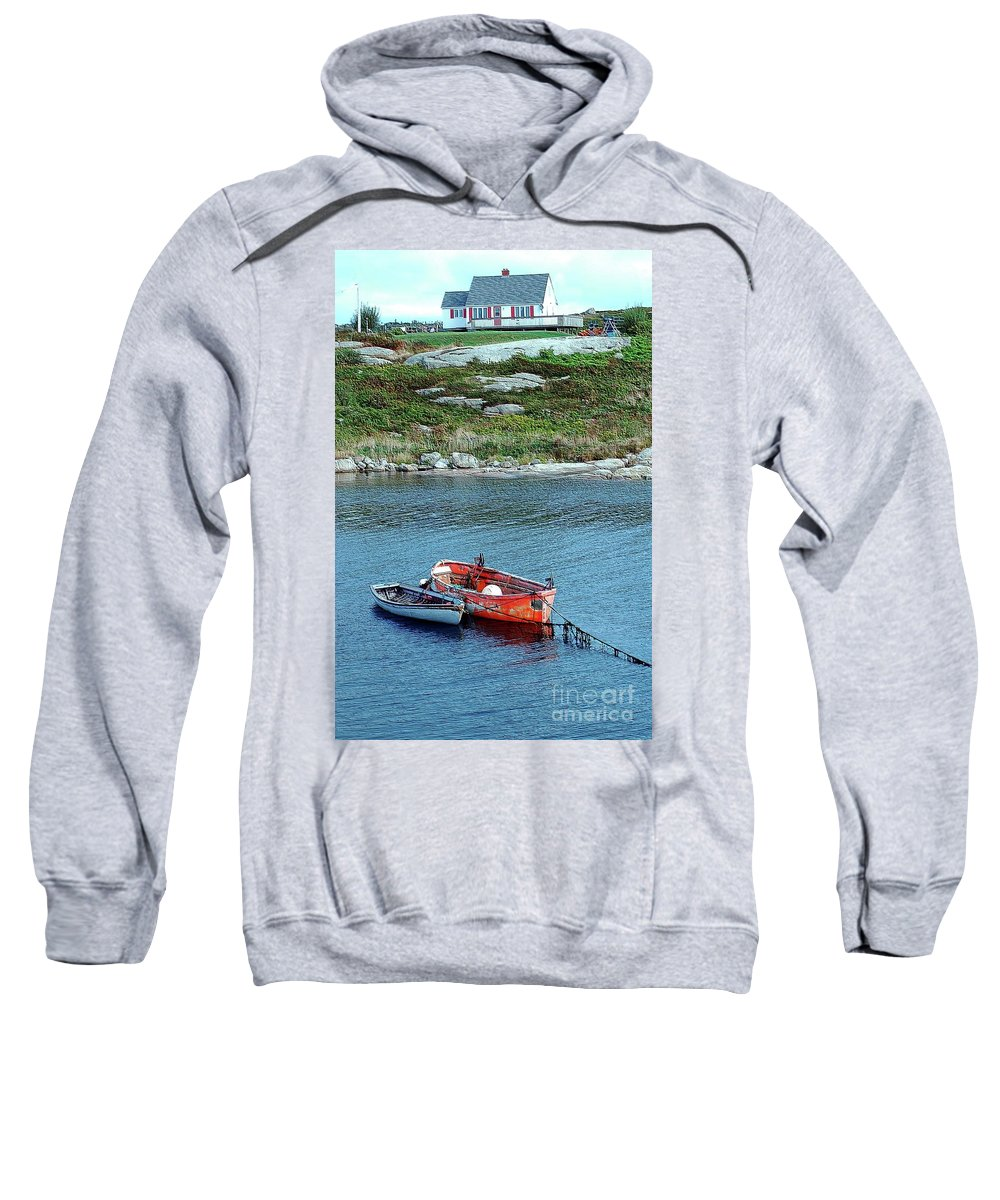 House Sweatshirt featuring the photograph Scenic Village by Kathleen Struckle