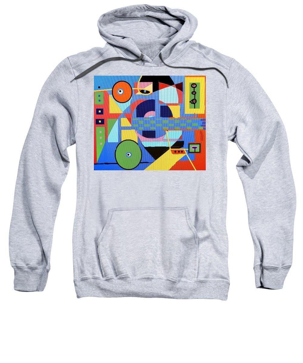 Digital Drawing Sweatshirt featuring the digital art Scorpion King by Ian MacDonald