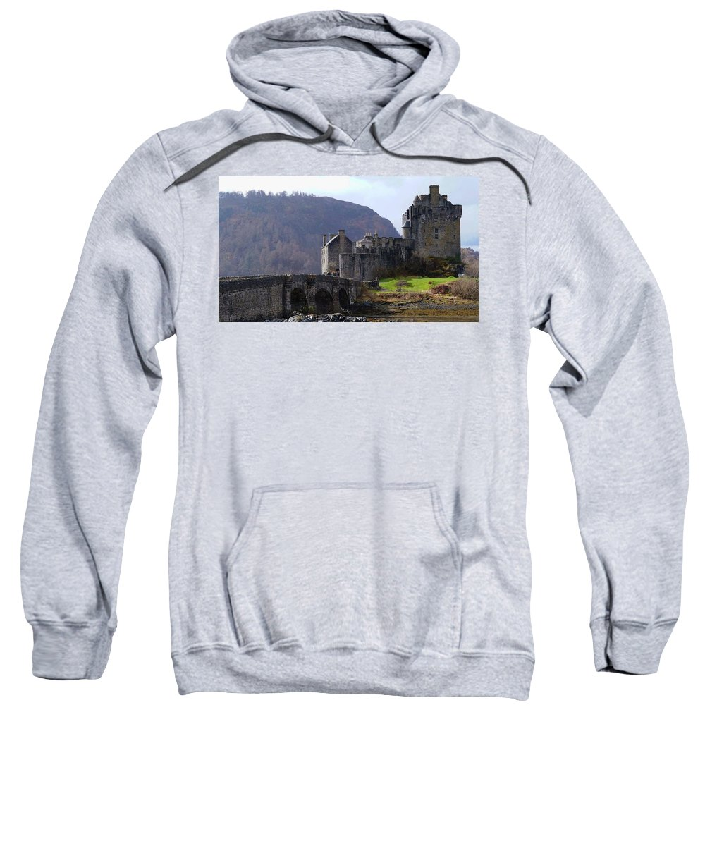Sweatshirt featuring the photograph Scottish Home by Scott Ledingham-Park