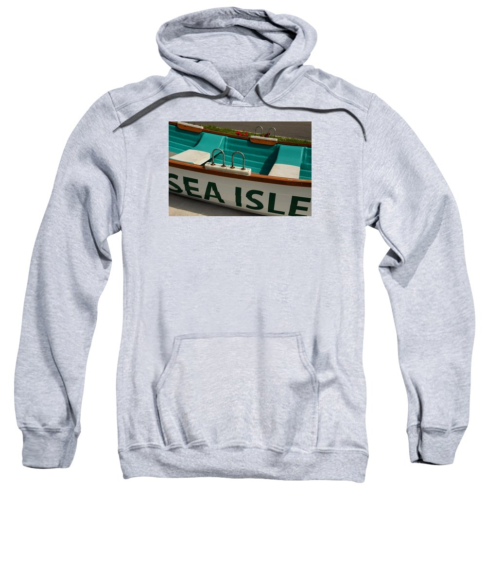 Sea Isle City Sweatshirt featuring the photograph Sea Isle by Jessica Wallace