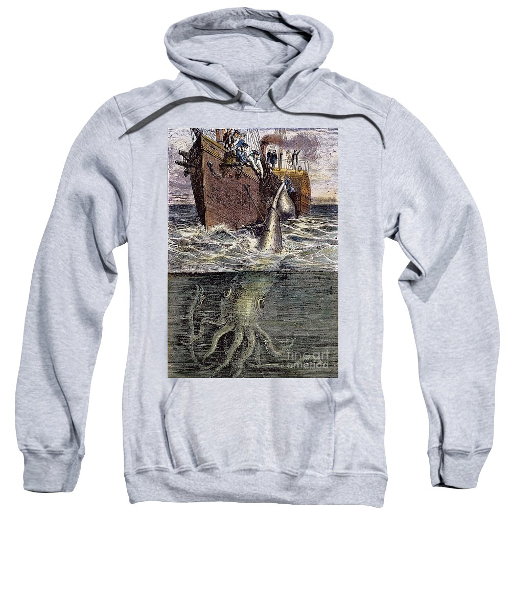 19th Century Sweatshirt featuring the photograph Sea Monster by Granger