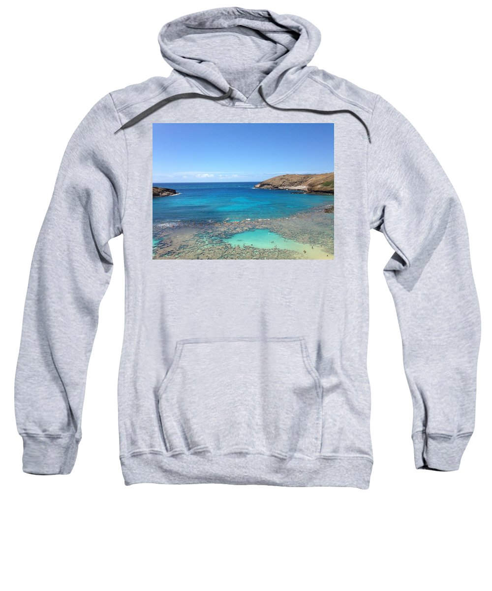 Sea Sweatshirt featuring the photograph sea by Renee Giegoldt