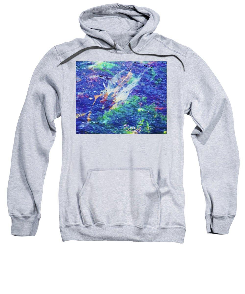 Ocean Sweatshirt featuring the photograph Sea Weed by Julie Rauscher