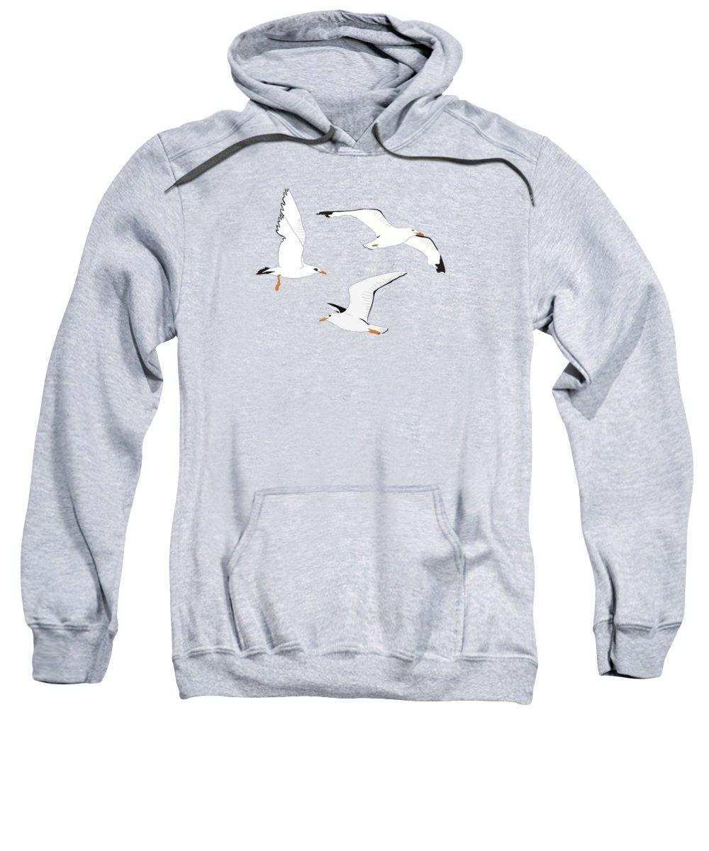 Seagull Hooded Sweatshirts T-Shirts