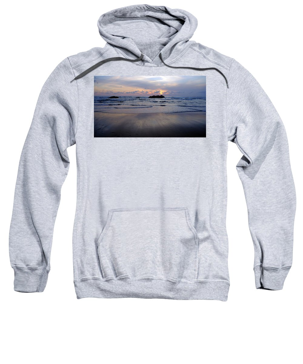 Sea Sweatshirt featuring the photograph Seascape 2 by Amy Belisle