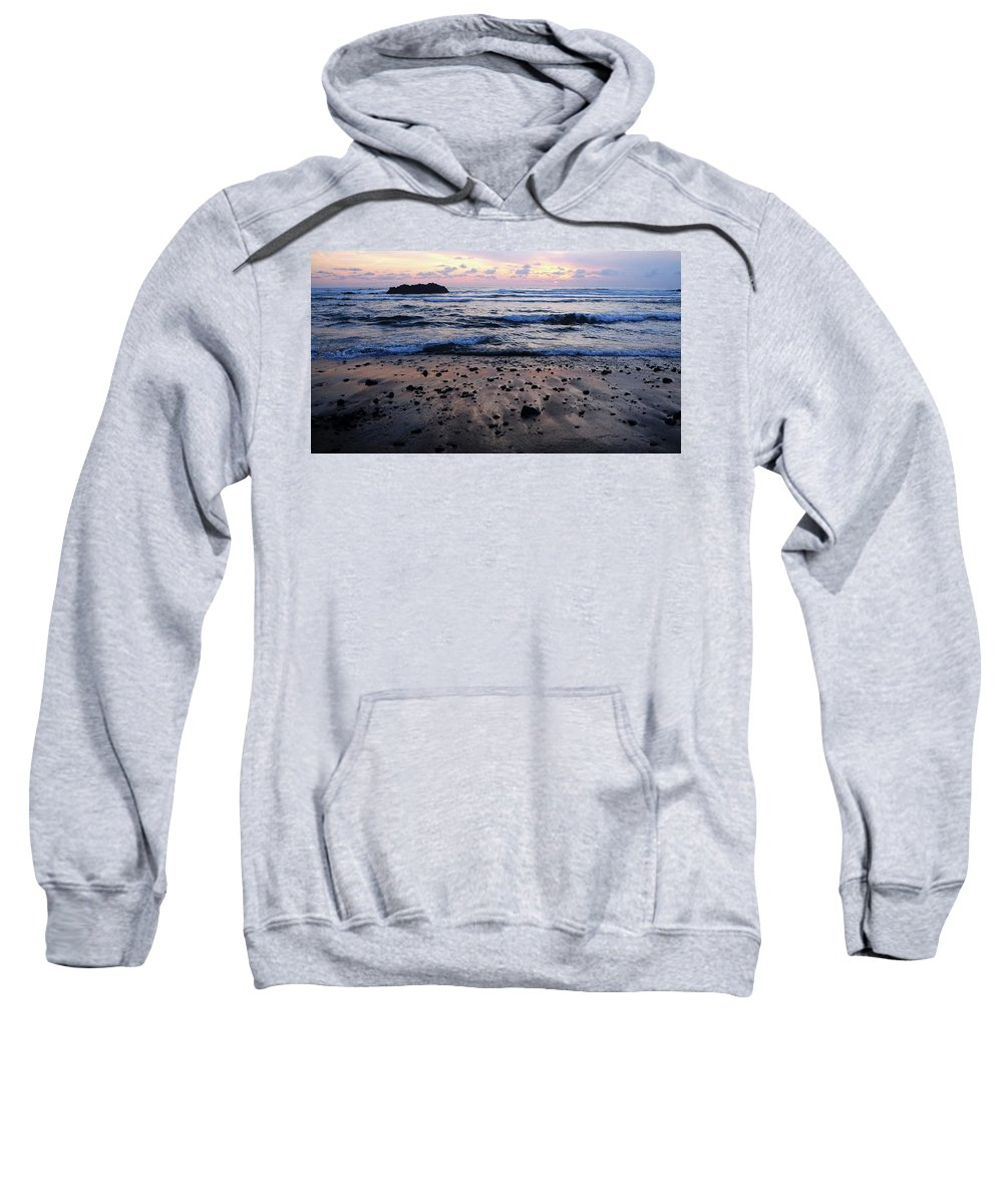 Sea Sweatshirt featuring the photograph Seascape by Amy Belisle